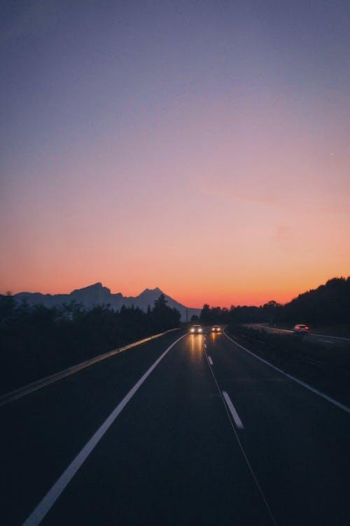 apus, autostradă, carosabil