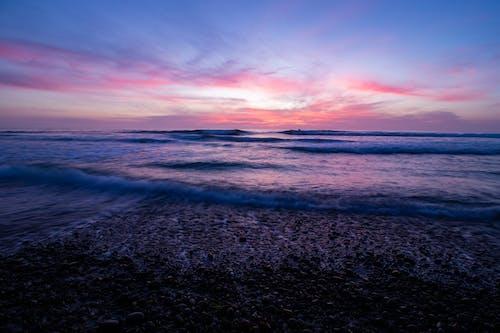 Kostnadsfri bild av encinitas, hav, solnedgång, stenar