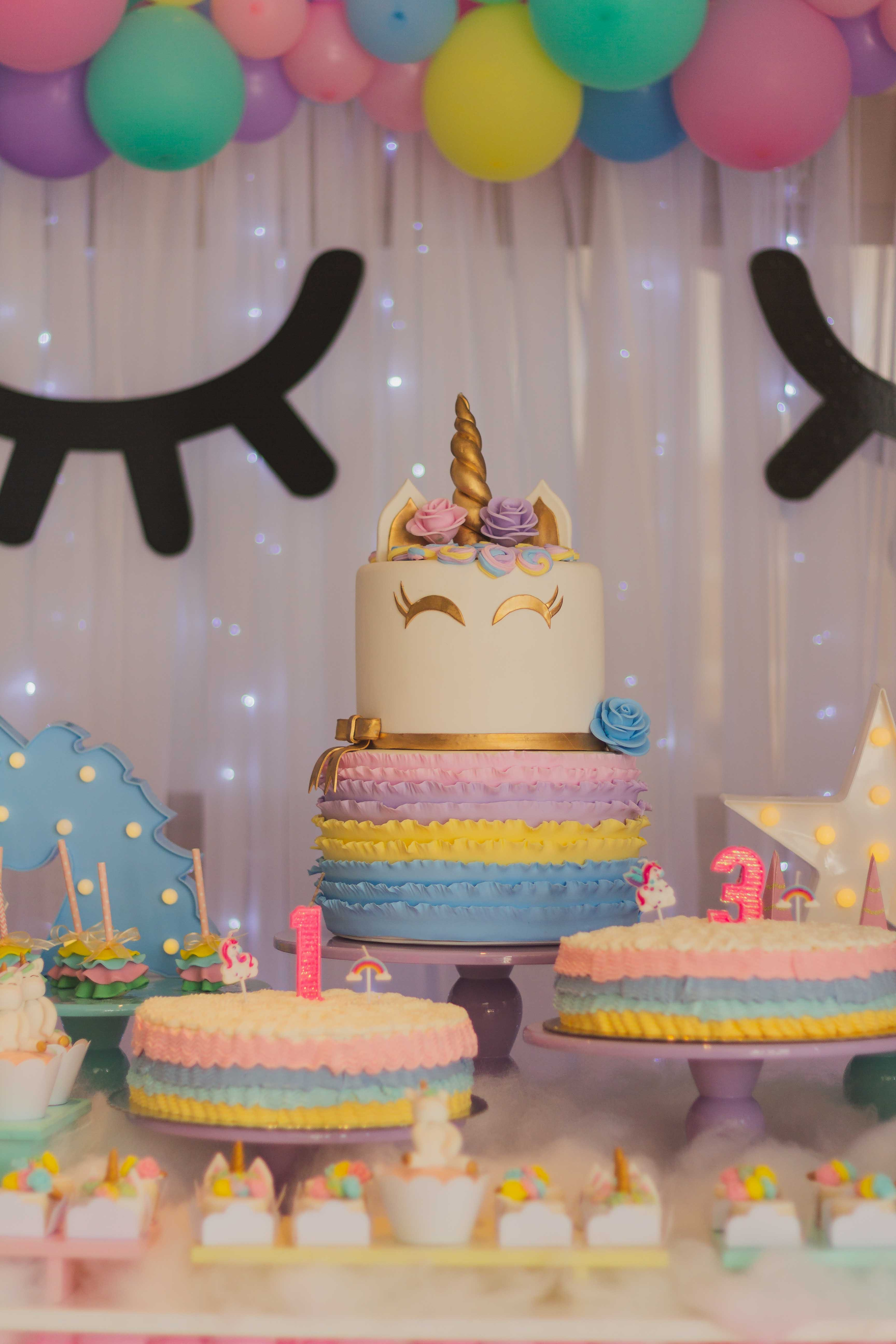 Free stock photo of birthday, birthday cake, cake, unicorn
