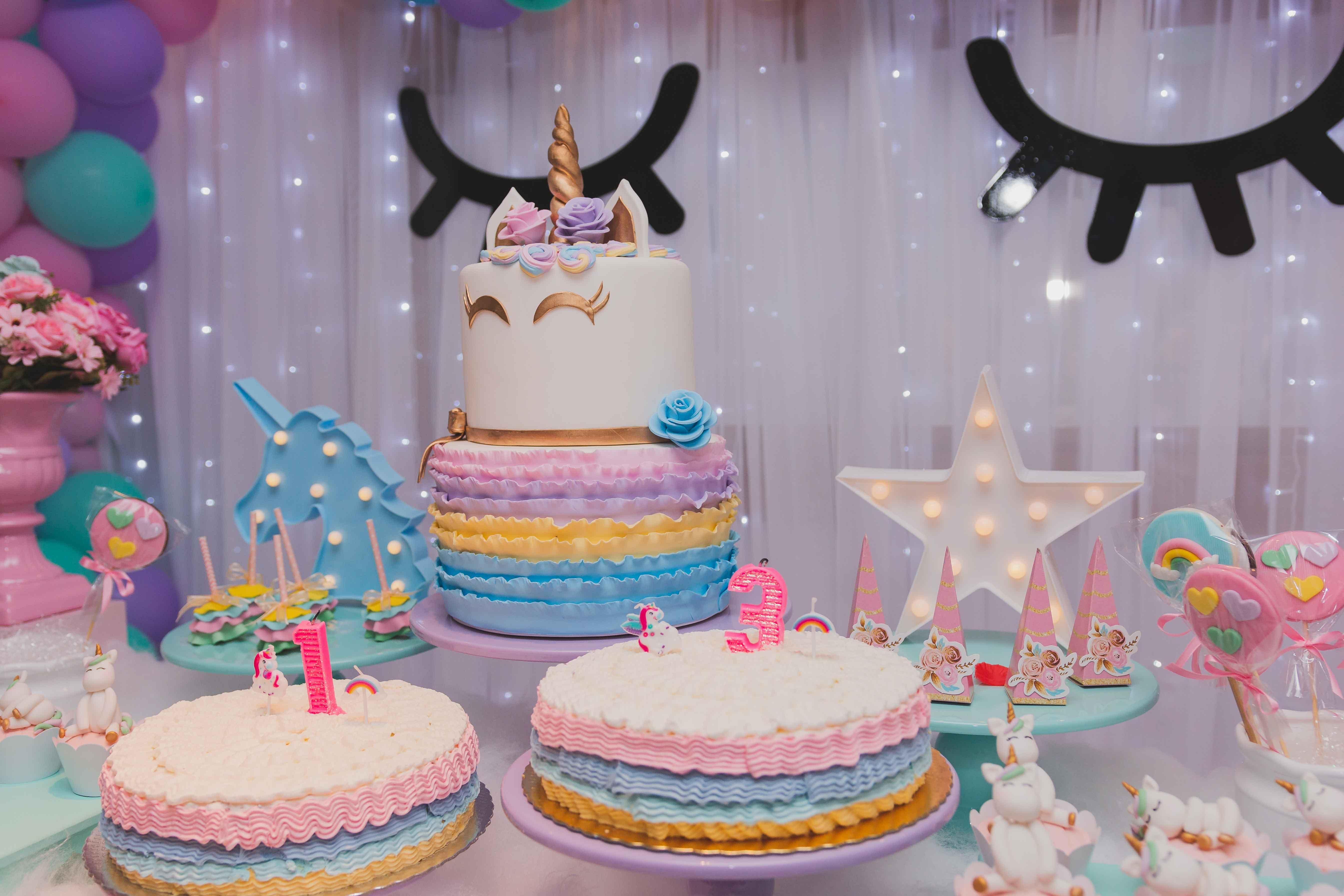Free stock photo of birthday, birthday cake, cake, unicorn