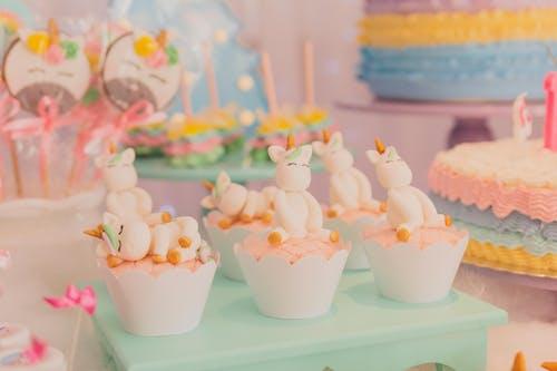 独角兽, 生日, 生日蛋糕, 蛋糕 的 免费素材照片