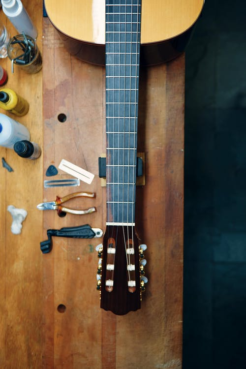 Free stock photo of instrument, luthier table, mechanic