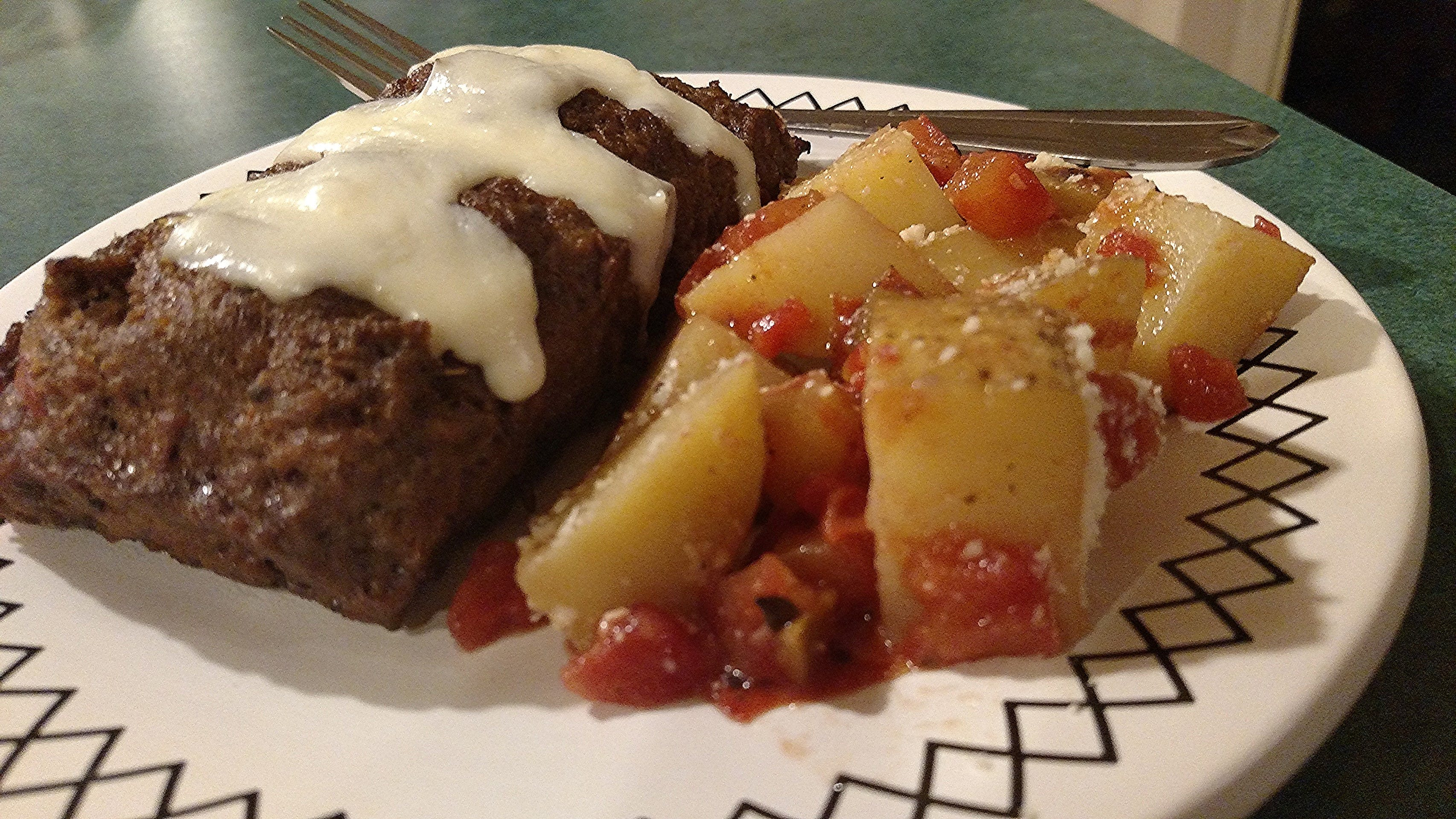 Free stock photo of food, meatloaf, potatoes
