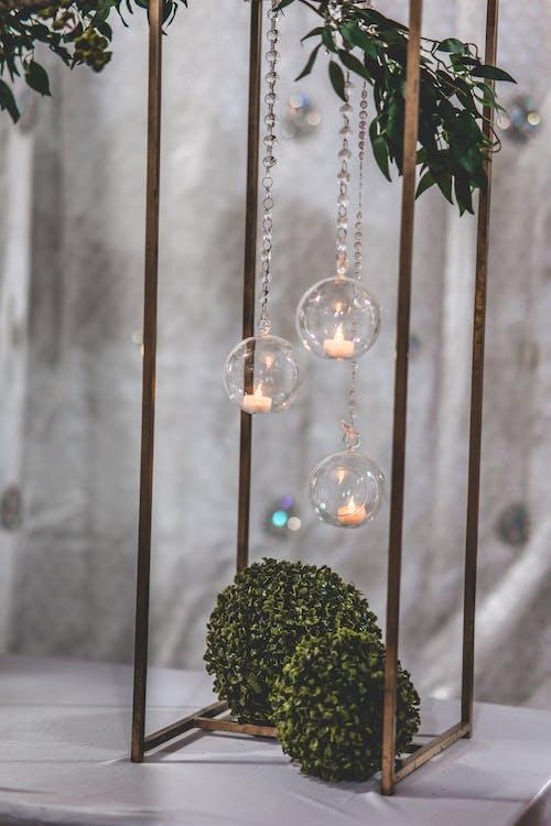 Glass Tealight Holders Centerpiece