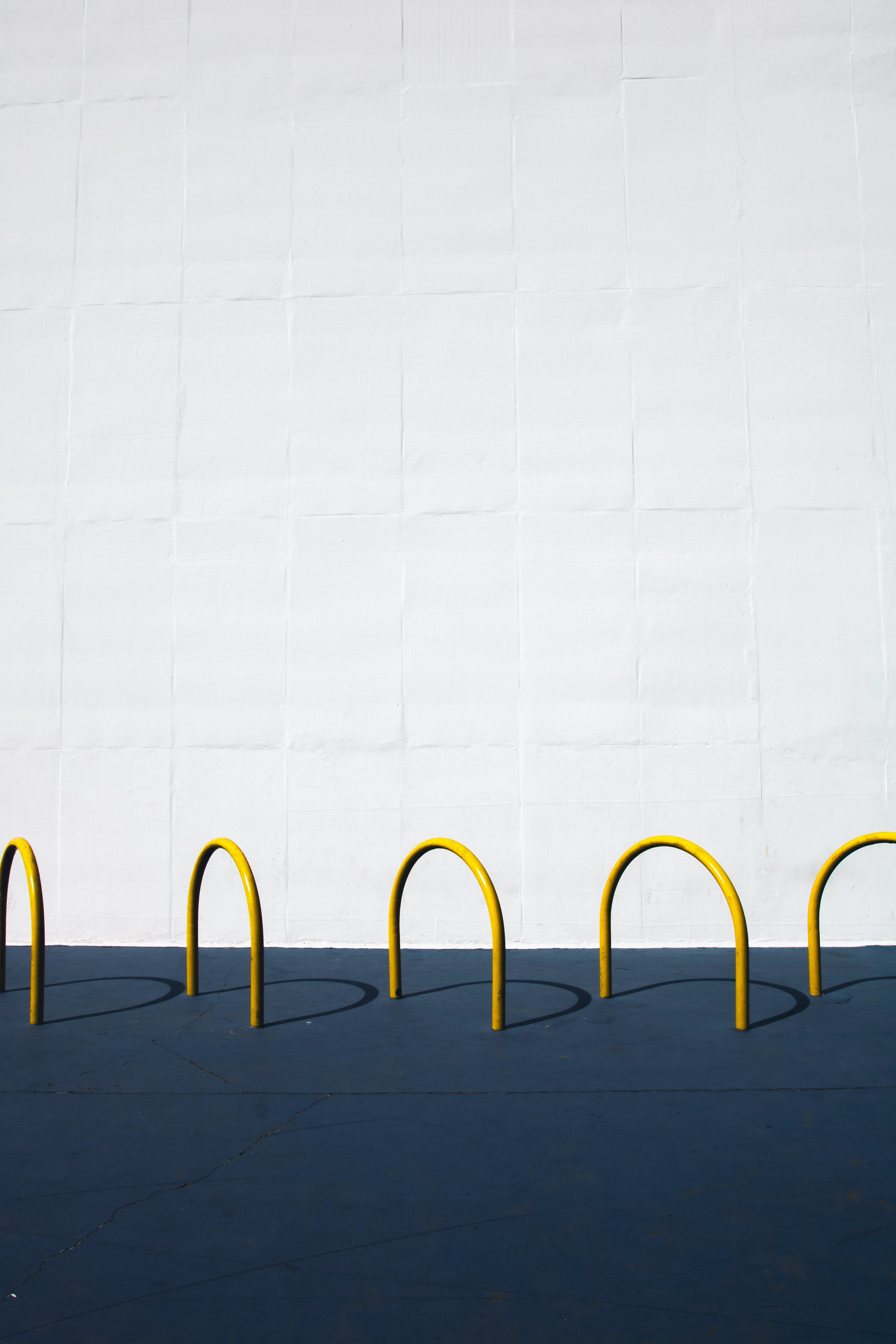 Yellow Croquet Rings