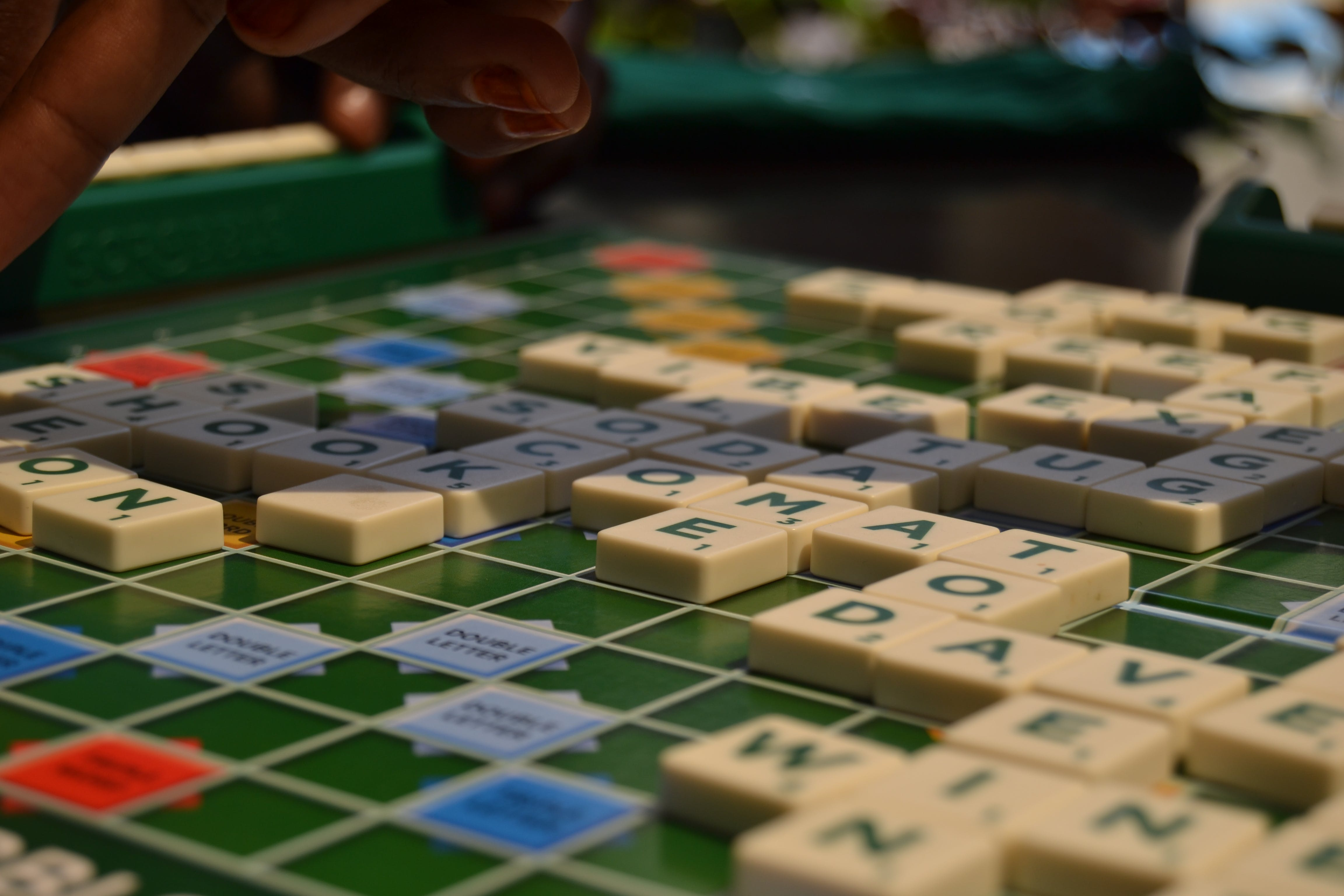 Free stock photo of scrabble