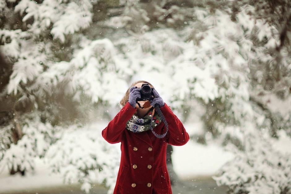 camera, cold, fashion