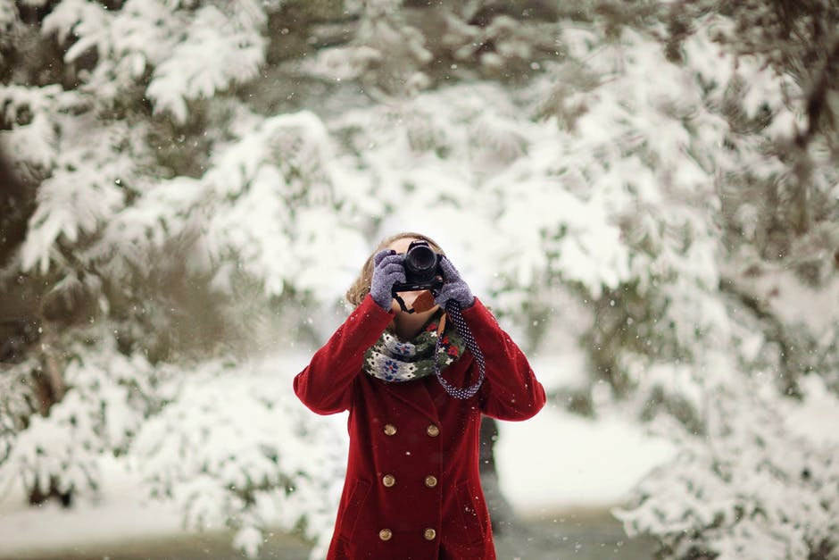 New free stock photo of cold, snow, fashion