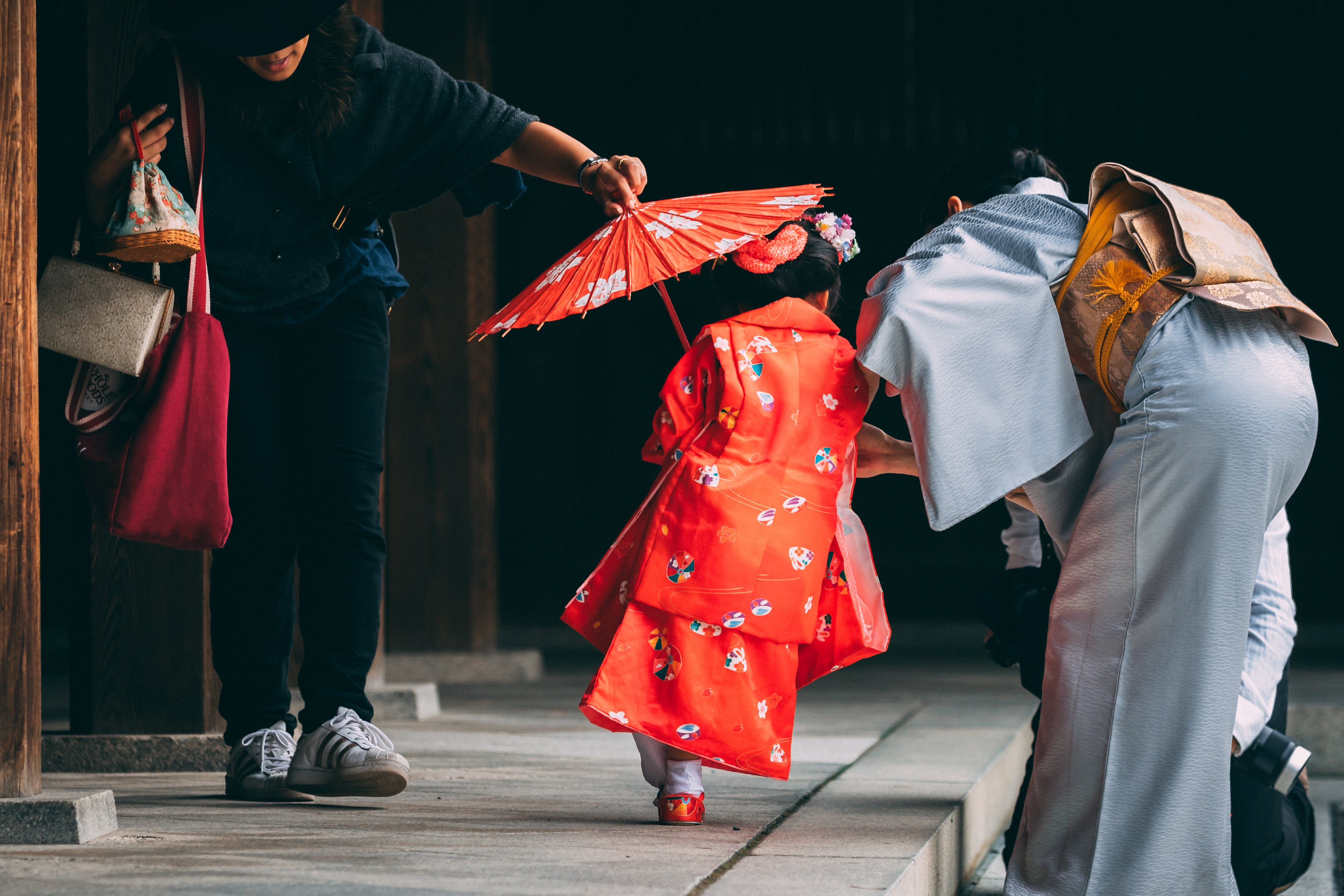 Free stock photo of girl, japan, umbrella