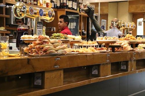 Gratis arkivbilde med mat, restaurant, snacks, spania