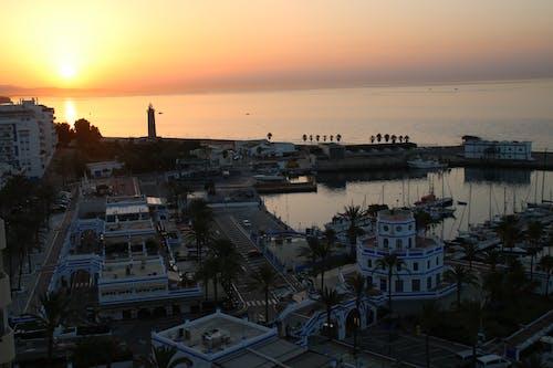 Gratis arkivbilde med daggry, havn, strand