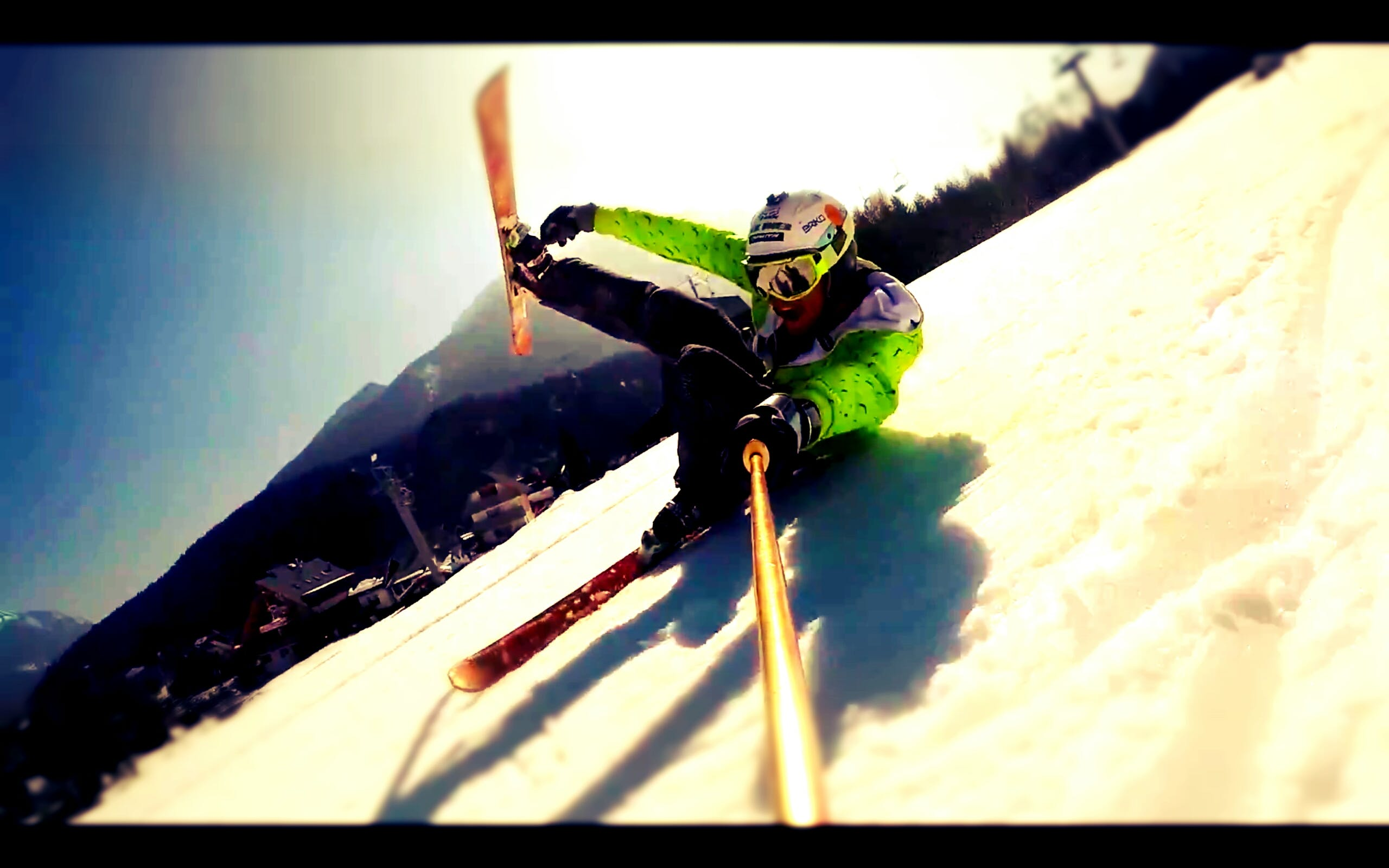 Free stock photo of skiing