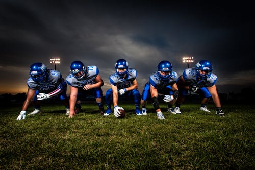 Foto stok gratis atlet sepak bola, bidang, bola, game