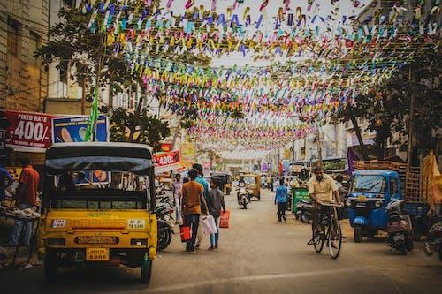 Ilmainen kuvapankkikuva tunnisteilla aasialaiset ihmiset, auto, automaattinen esitys, Intia