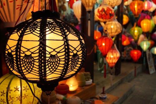 Free stock photo of lamp, light, vietnamese lamp
