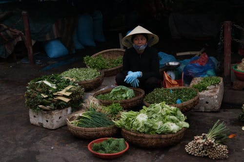 Free stock photo of asian market, early morning, food