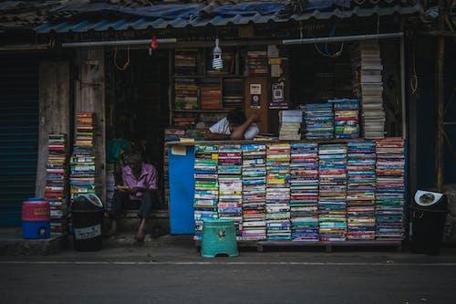 Ilmainen kuvapankkikuva tunnisteilla Intia, intialaiset, katu, katukuva