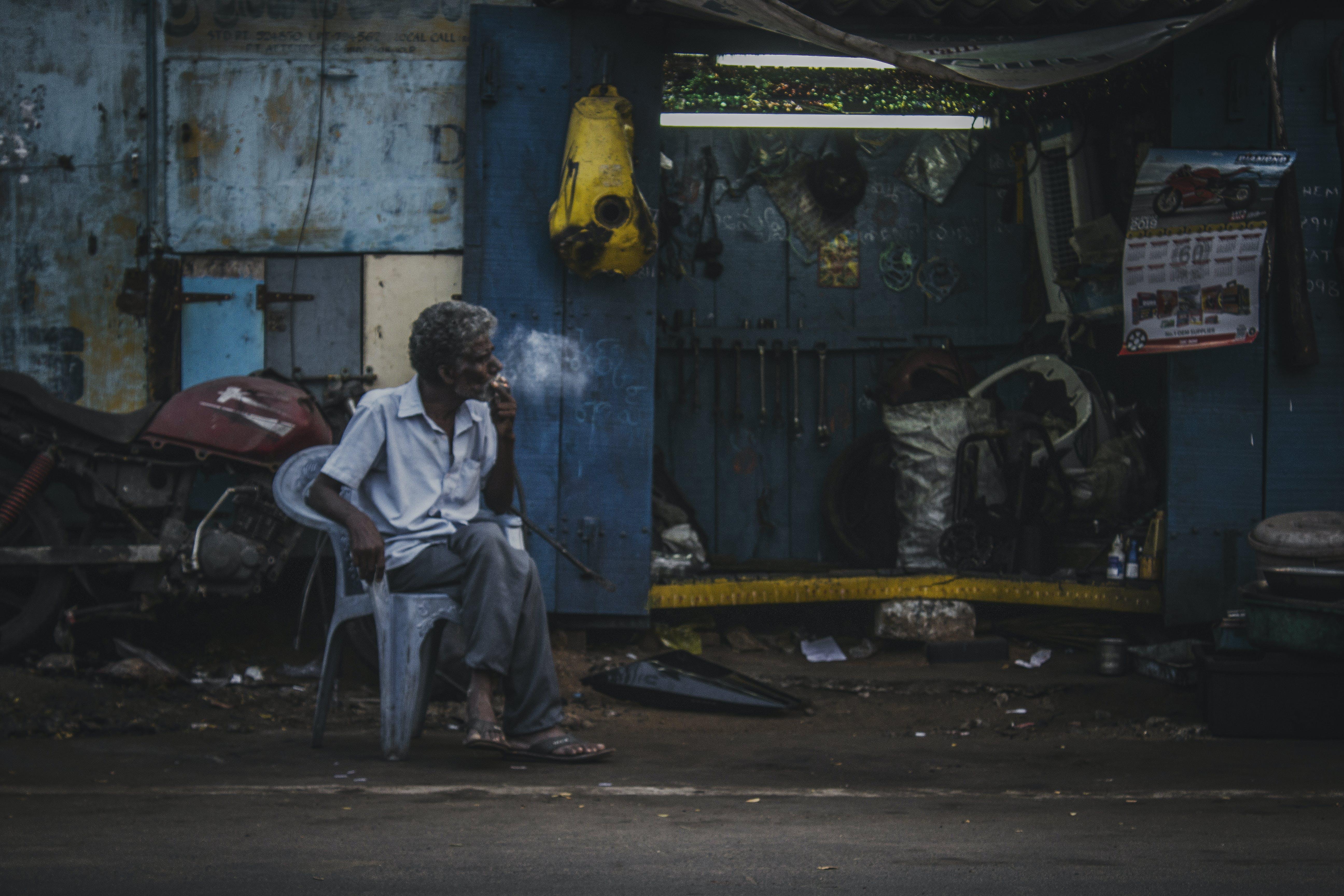 Free stock photo of bike, busy street, dirt bike, india