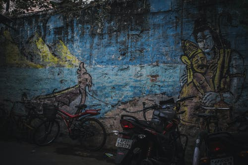 Ilmainen kuvapankkikuva tunnisteilla Intia, intialainen, jumala, kadun viestit