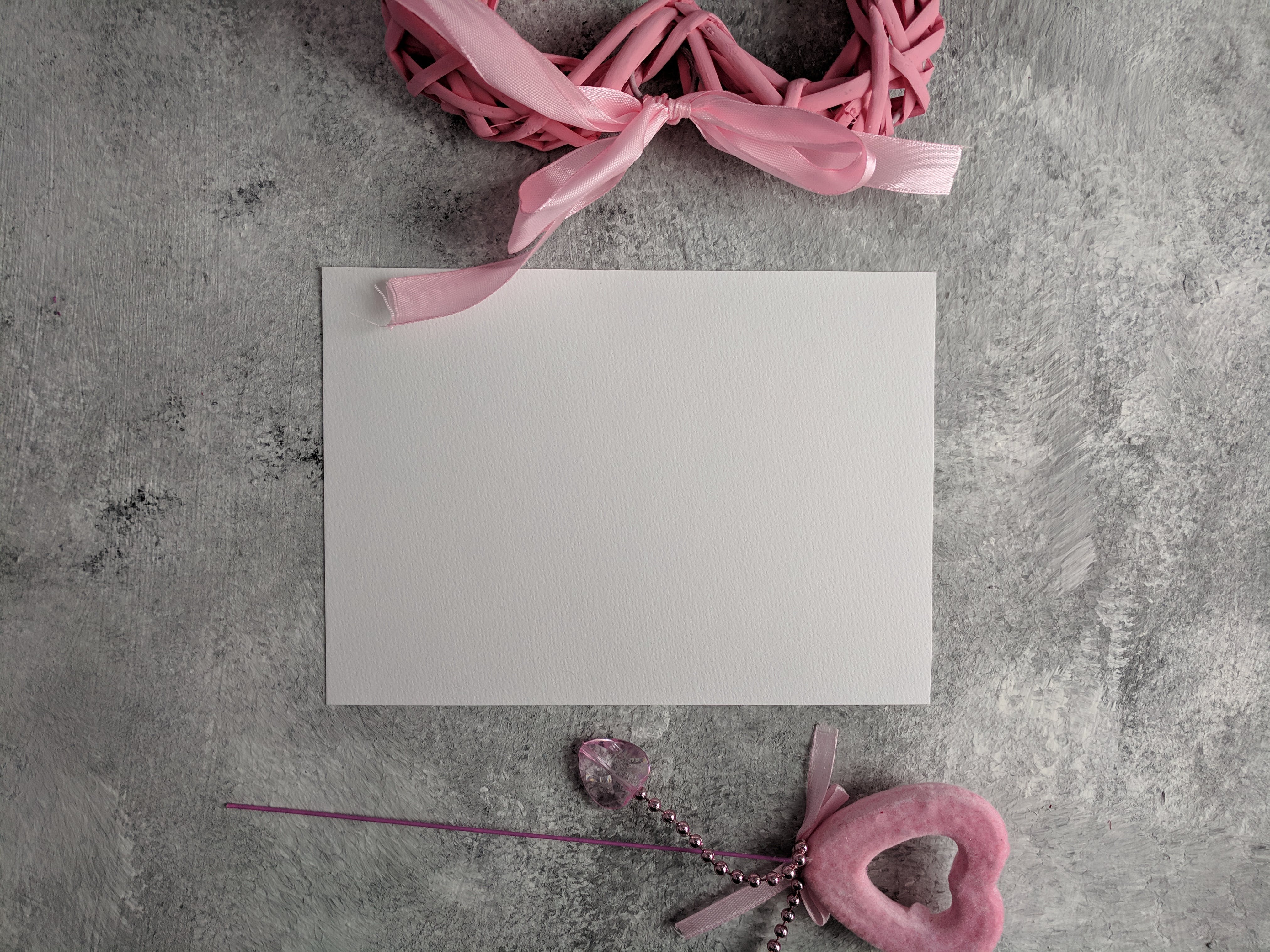 Free stock photo of blank, card, heart, rhinestone