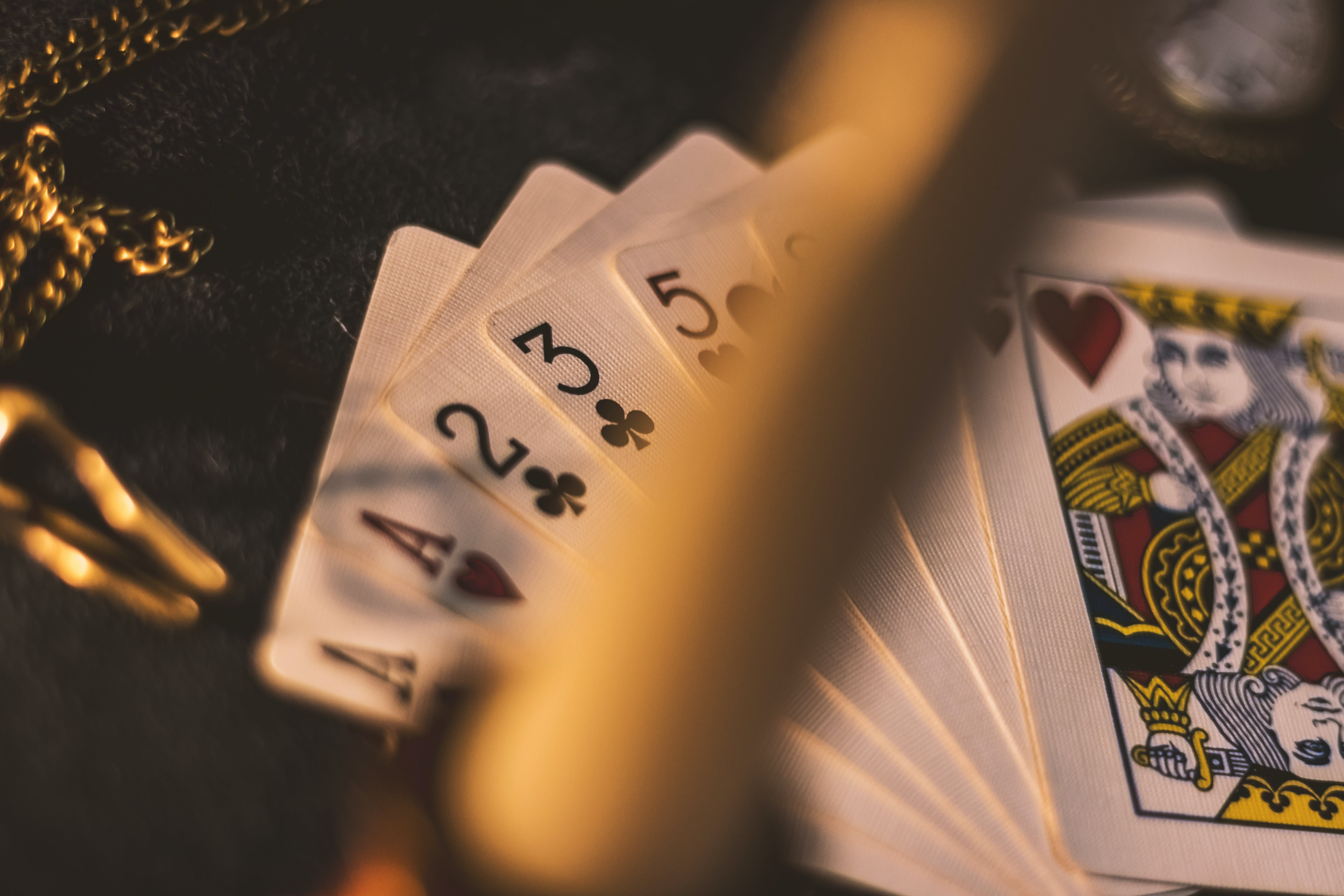 Free stock photo of playing cards