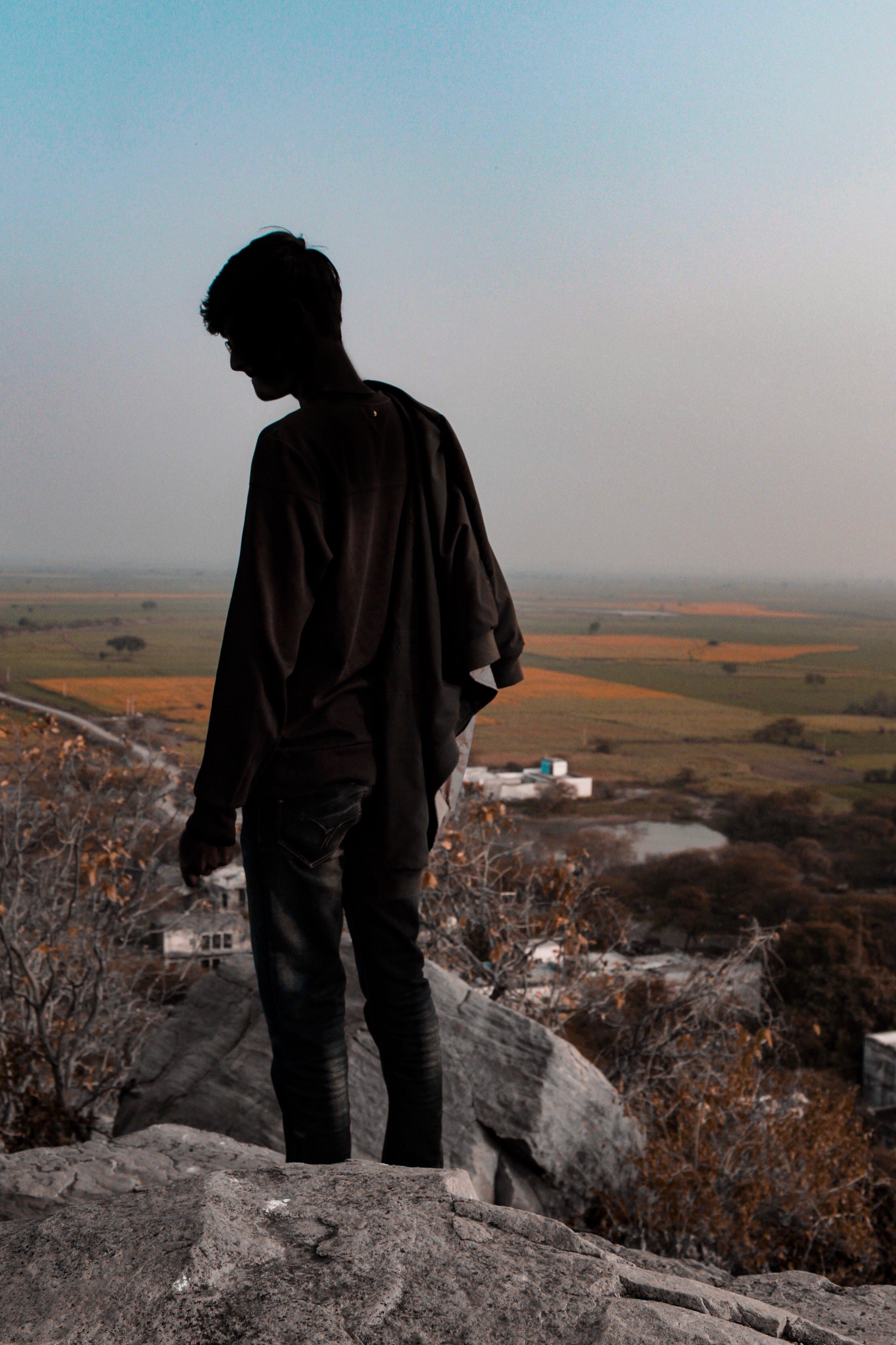 Free stock photo of boy, standing