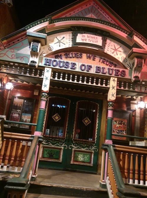 Foto stok gratis house of blues, new orleans