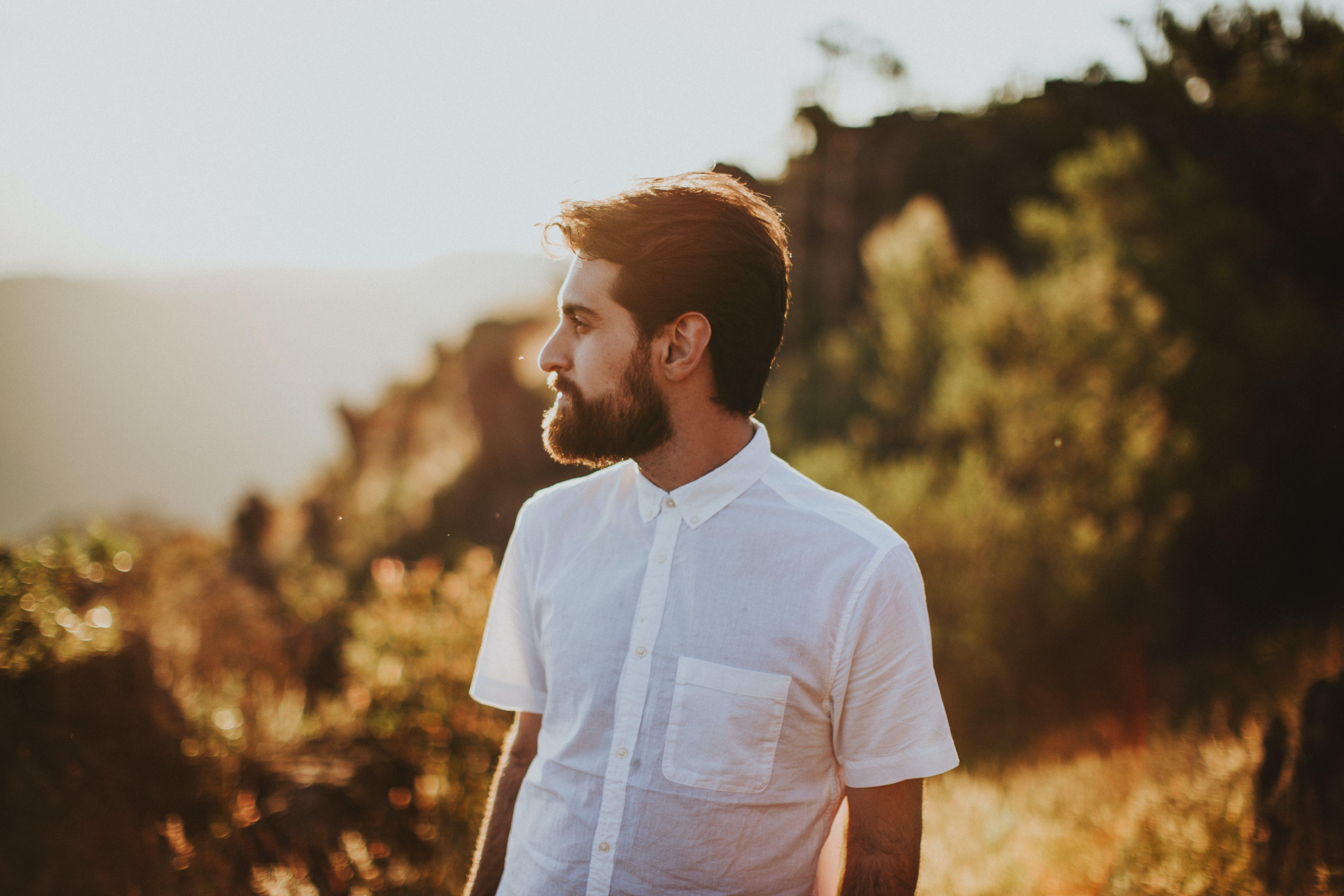 Photo of Man Wearing Polo Shirt