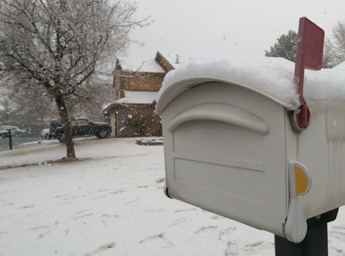 Безкоштовне стокове фото на тему «дерево, застуда, пошта, Поштова скринька»