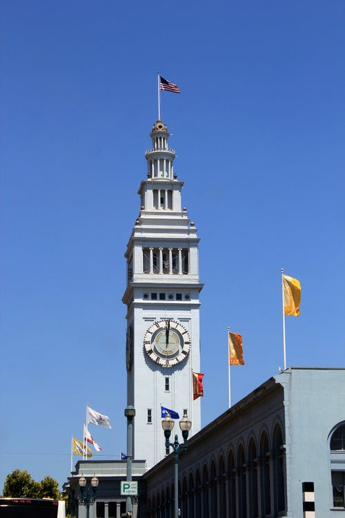 Free stock photo of clock tower