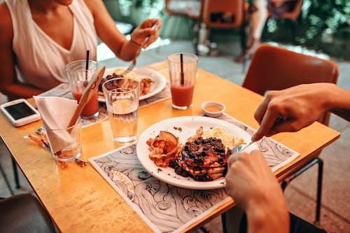 먹는, 음식, 팬케이크, 페이스트리의 무료 스톡 사진