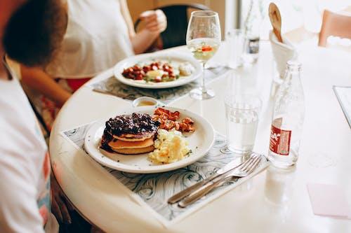 Photo of People Eating Breakfast
