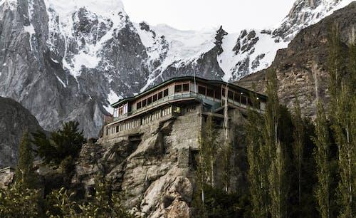 Fotobanka sbezplatnými fotkami na tému architektúra, budova, hora, kameň
