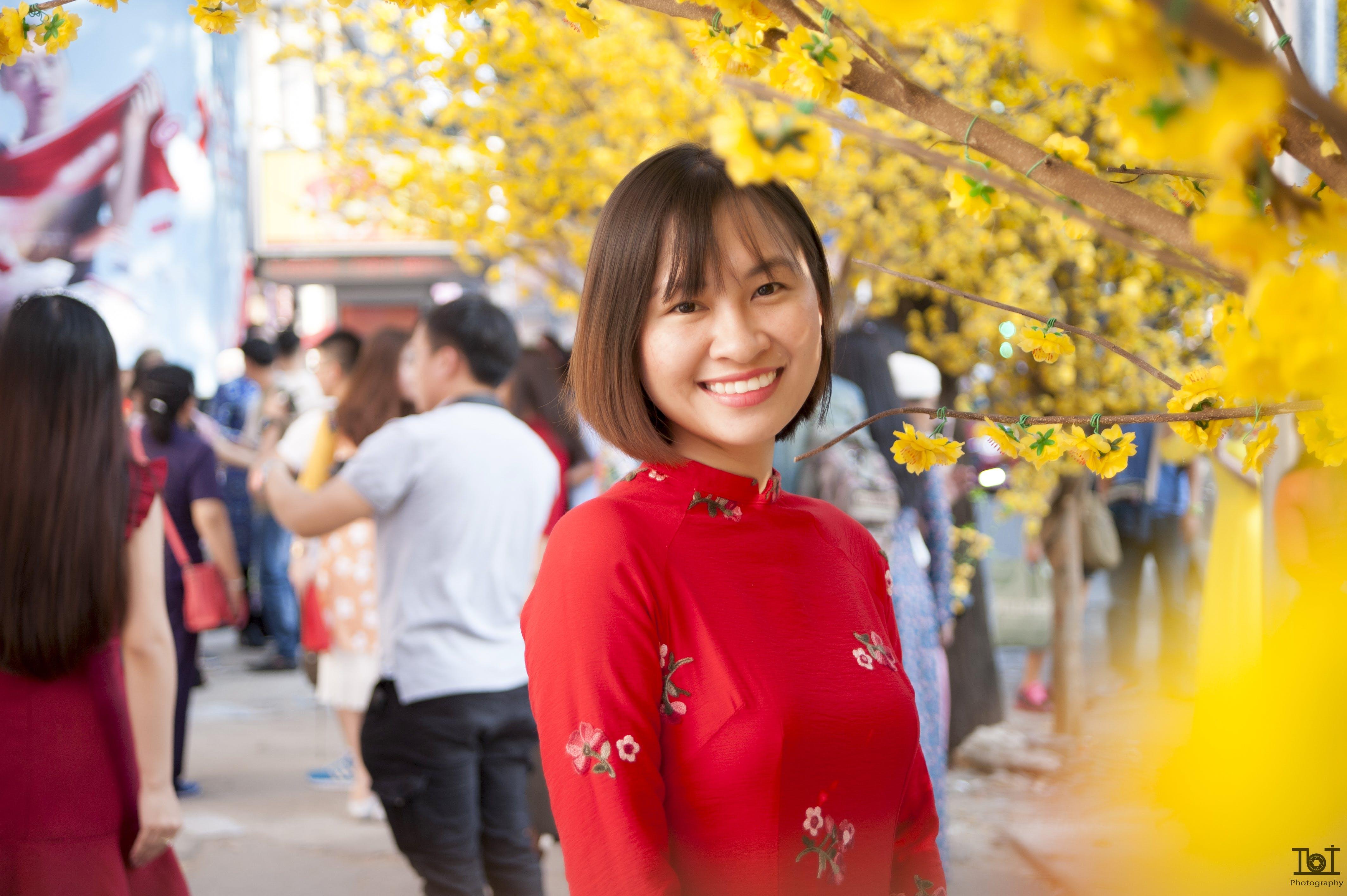 Free stock photo of cô gái châu á, vietnam