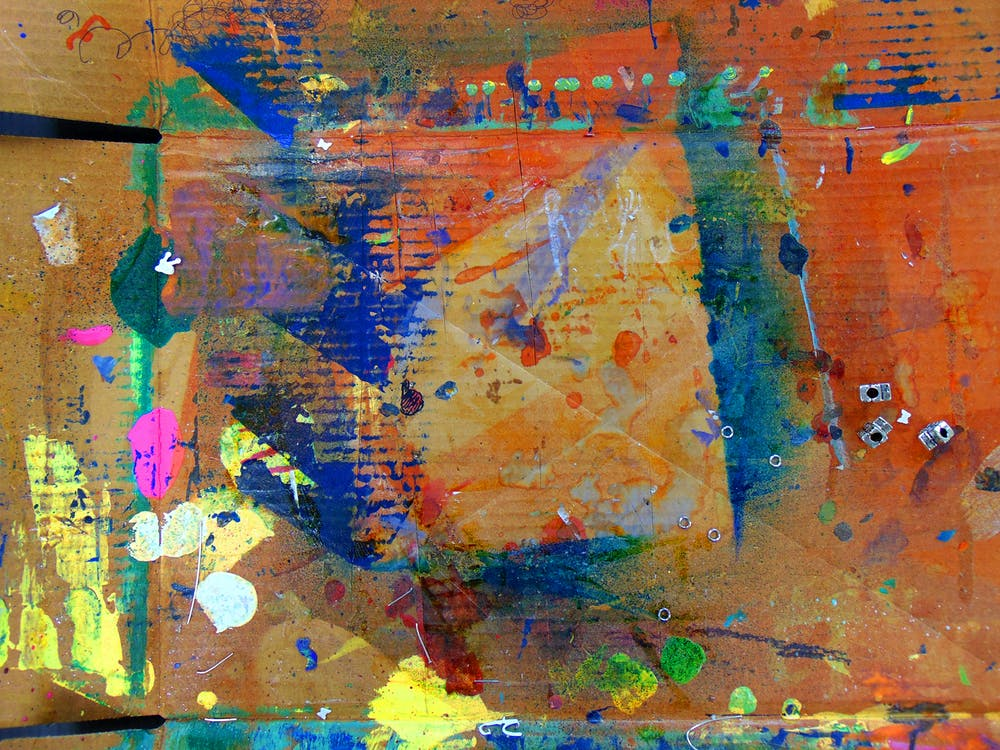 acrílico, arte, arte contemporânea