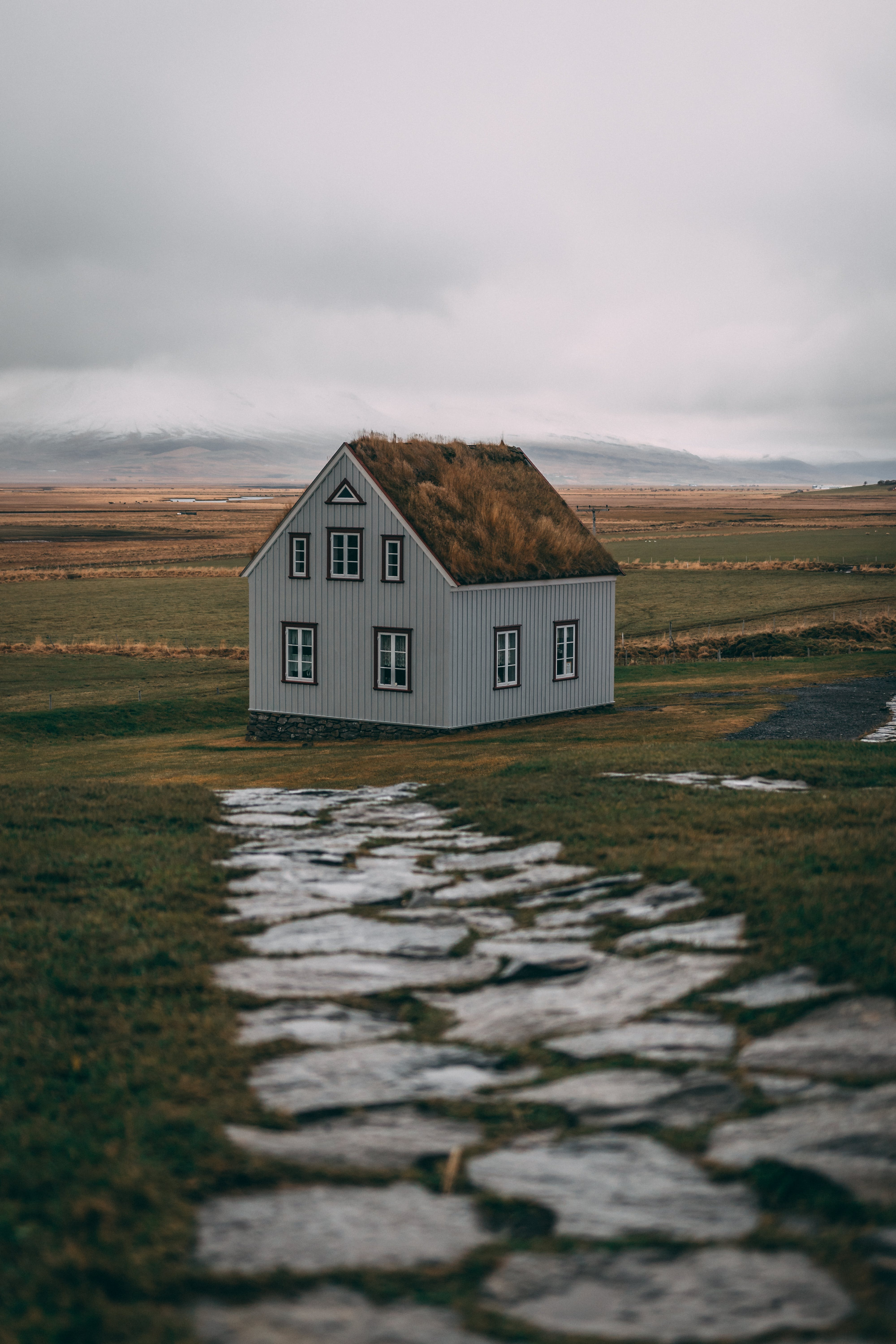 House At Green Field