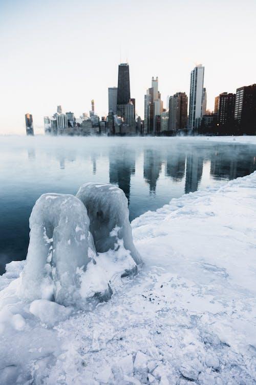 #winter #chicago # 2019 içeren Ücretsiz stok fotoğraf