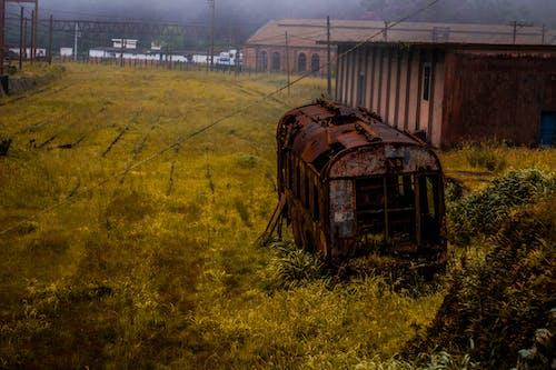 Free stock photo of abandonado, antigo, reliquia, trens