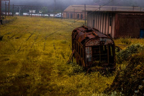 abandonado, reliquia, trens鎮, 安蒂戈 的 免費圖庫相片