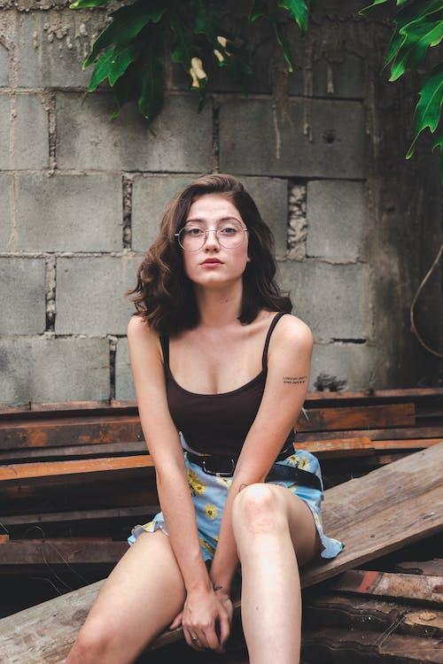 女人, 性感的, 擺姿勢, 時尚 的 免費圖庫相片