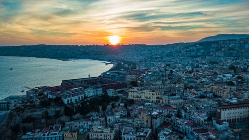 Free stock photo of dji, drone, italy, Naples