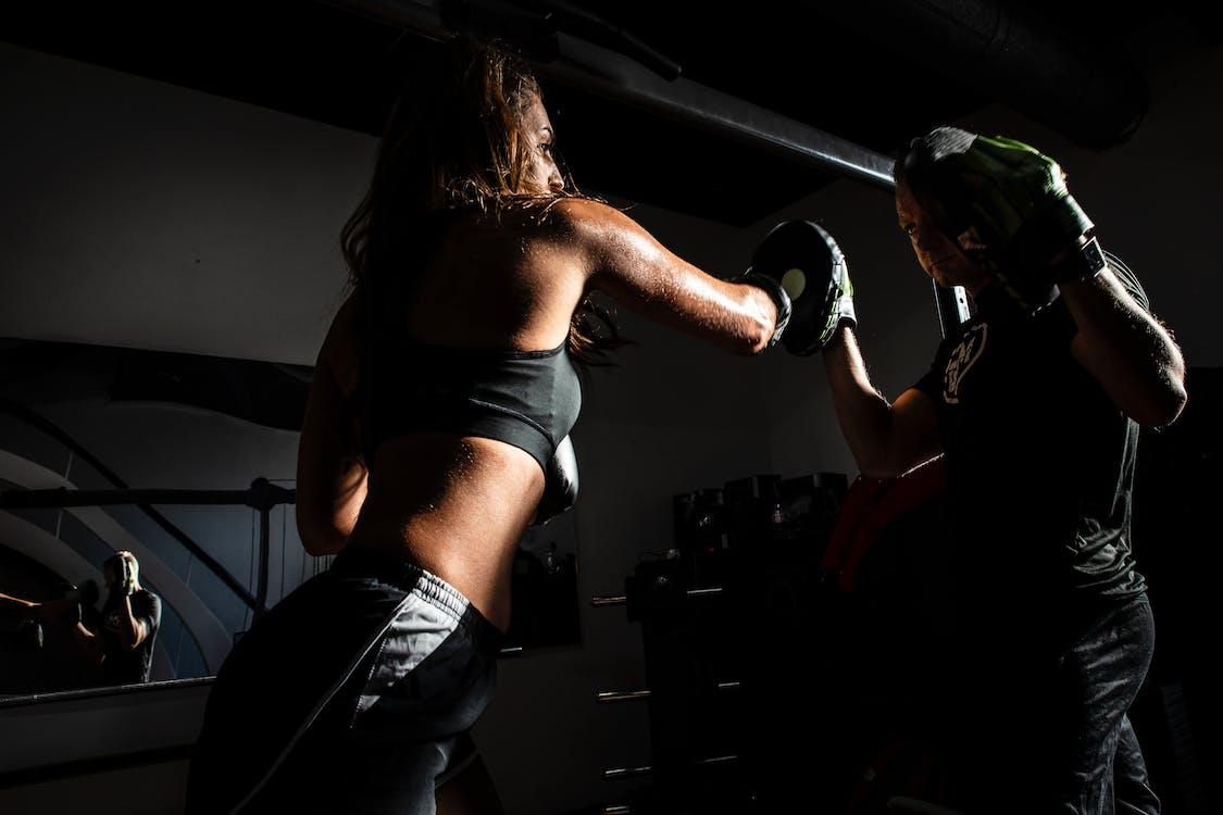 การออกกำลังกาย, คน, ชกมวย