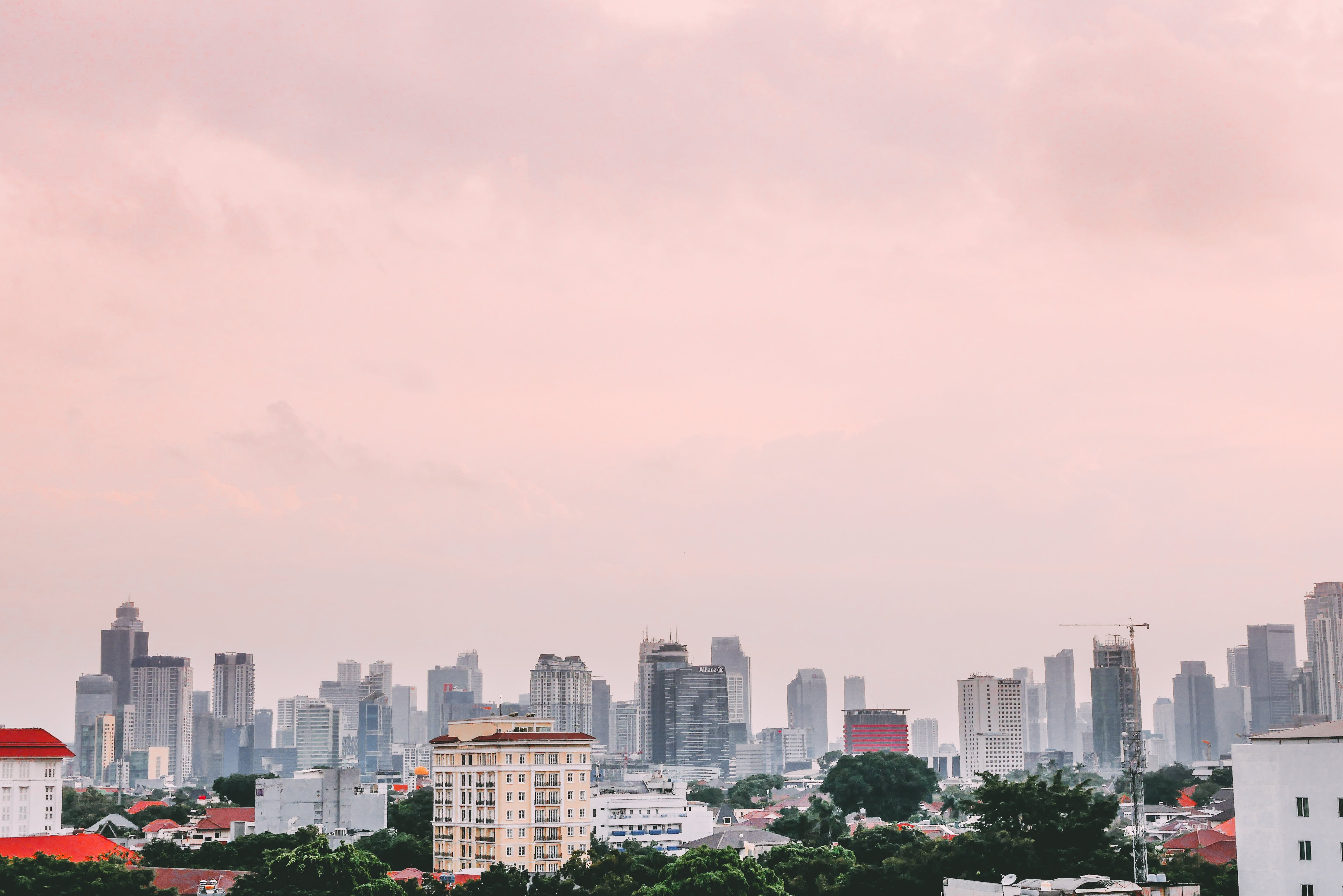 Free stock photo of buildings, cityscape, cityview, indonesia
