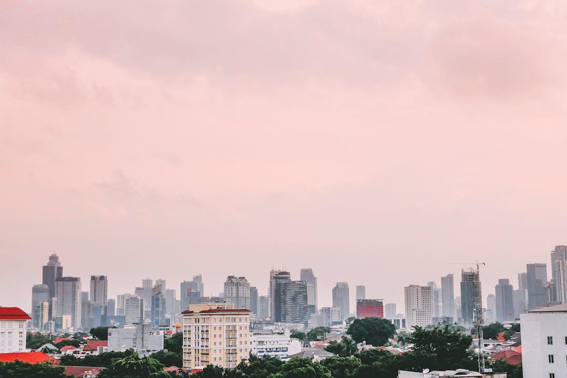 budovy, Indonézia, jakarta