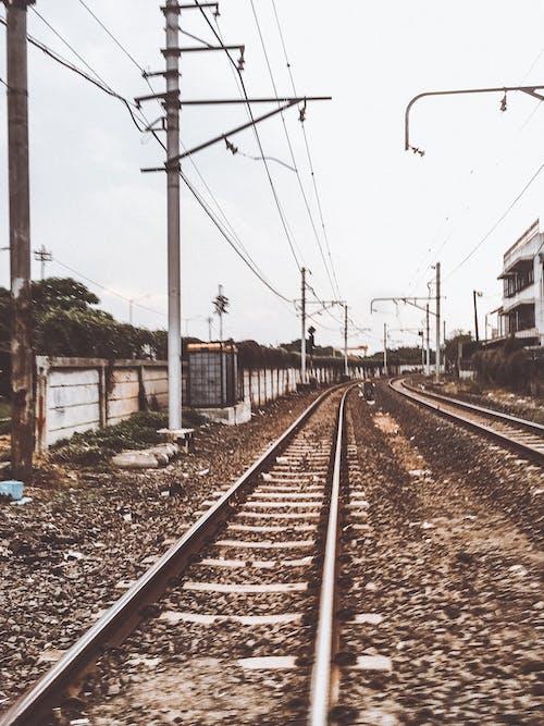 Free stock photo of analog, indonesia, jakarta, railway