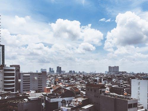 Free stock photo of blue sky, bluesky, cityscape, cityview