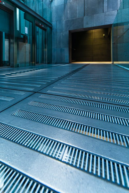 Free stock photo of elevator, glass, industrial, industrial building