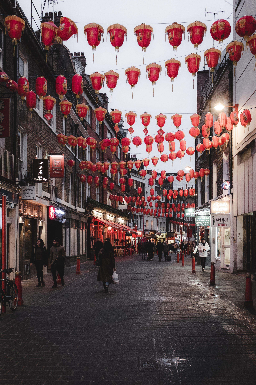 Základová fotografie zdarma na téma Čínská čtvrť, čínský, Londýn