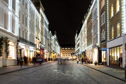 Free stock photo of christmas, covent, covent garden, lights