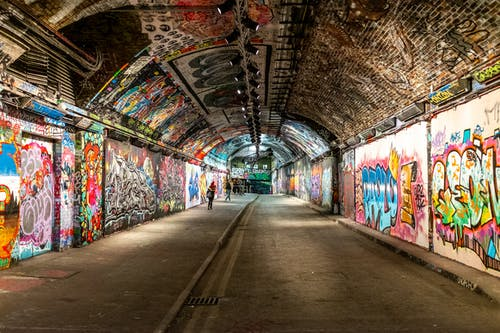Gratis lagerfoto af folk, graffiti, leake street, London